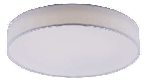 Trio Leuchten WiZ LED Deckenleuchte Diamo 651915501, 45 Watt RGBW LED mit 16 Mio. Farben + 64.000 Weißtöne + 18 Licht-Szenen, Steuerung über App + Sprachsteuerung + Fernbedienung + Wandschalter