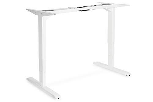 DIGITUS Elektrisch höheneinstellbarer Steh/Sitz Schreibtischunterbau