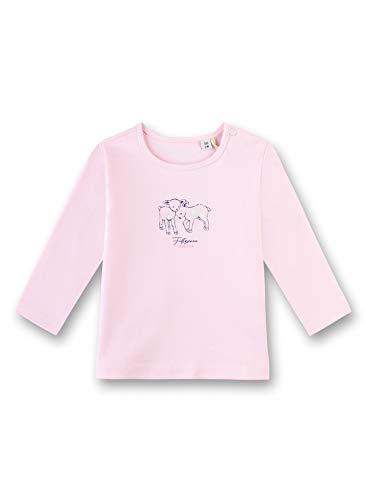 Sanetta Shirt Camiseta, Rosa (Magnolie 3609), 74 (Talla del Fabricante: 074) para Bebés