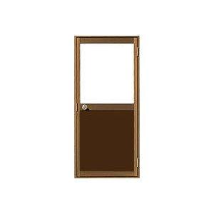 三協立山アルミ 勝手口ドア 框ドアA型 上:ガラス下:パネルタイプ