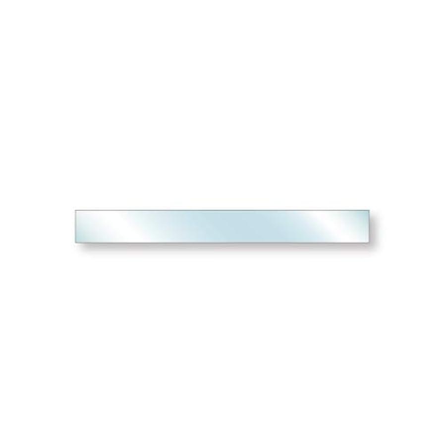クレタ父方のスピリチュアル強化ガラス 安全ガラス 厚み8mm 900×100mm 四角形 アラズリ サイズオーダー対応
