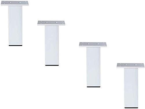 GANE 4 UNIDS Muebles Patas de Metal Patas de Gabinete Pies de Encimera de Cocina para Muebles Patas de Mesa Ajustable Aleación de Aluminio Sofá Mesa de Centro Capacidad de Carga 200 kg
