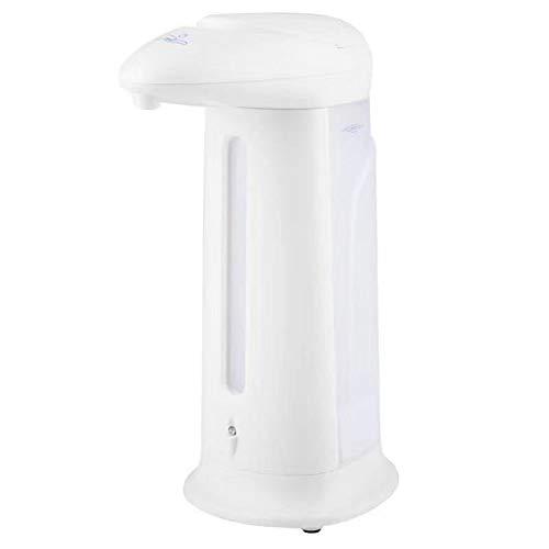 Dispensador De JabóN Liquido Automatico Sensor Infrarojo Doble para Pared Desinfectante Manos En Espuma para Cocina/BañO/Oficina/Inodoro 330ML