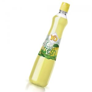 YO Fruchtsirup fresh - Zitrone-Melisse-Minze - 3 x 0,70 l