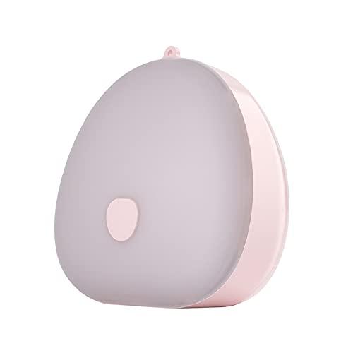 HPRM Luz Nocturna, lámpara de Noche Recargable USB, con Tres Colores claros, iluminación de Escritorio, iluminación portátil, para Dormitorio en el hogar, Rosa