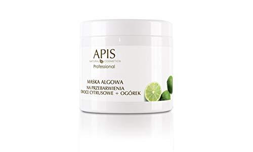 APIS DISCOLOURATION-STOP Aufhellende Algenmaske mit Grapefruit und Gurke zur Reduzierung von Verfärbungen | Gesichtspflege, Aufhellung von Verfärbungen | 250 g