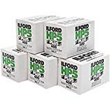 Ilford HP5+ Pellicule photo 35mm, 36 expositions, 5 rouleaux
