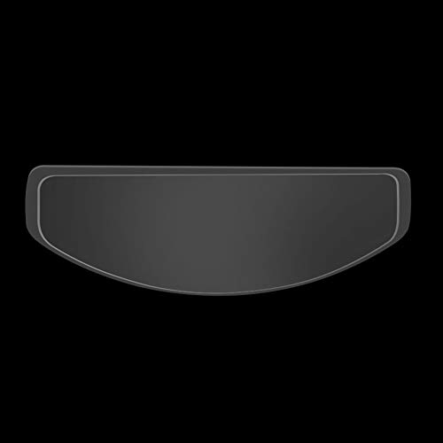 Tongdejing Motorrad Helm Antibeschlag Folie, Universal Schutzfolie Transparent Vsor Scheibe Aufkleber, Motorradhelm Visier Aufkleber