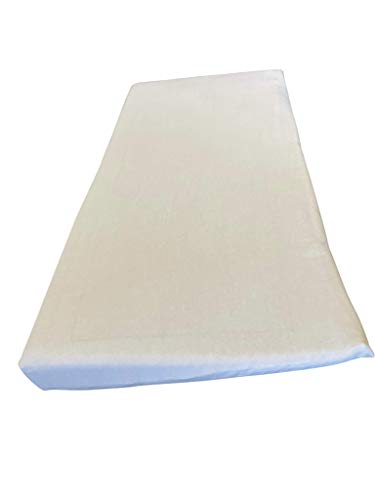 ERGO21 Baby Crib Wedge - Better Than Gel, Foam, and Air! Liquid-Filled Membranes. Blood Flow Improved by 150% - 27' x 13' x 2.5'