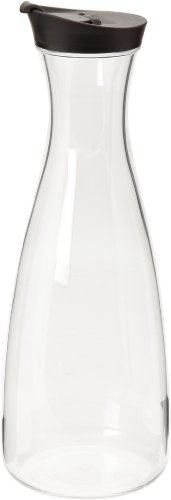 Prodyne Acrylic Juice Jar, 56 oz., Black