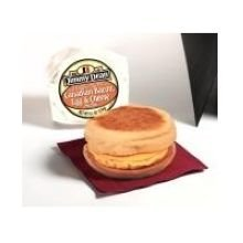 Jimmy Dean Egg and Cheese Muffin Canadian Bacon Breakfast Sandwich, 4 Ounce -- 12 per case.