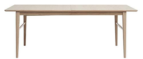 PKline Esszimmertisch Rosie teilmassiv Wildeiche Esstisch Tisch Küchentisch ausziehbar