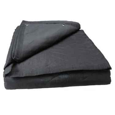 US Cargo Control Large Sound Blanket - 96 Inches Long By 80 Inches Wide - Black Sound Dampening...