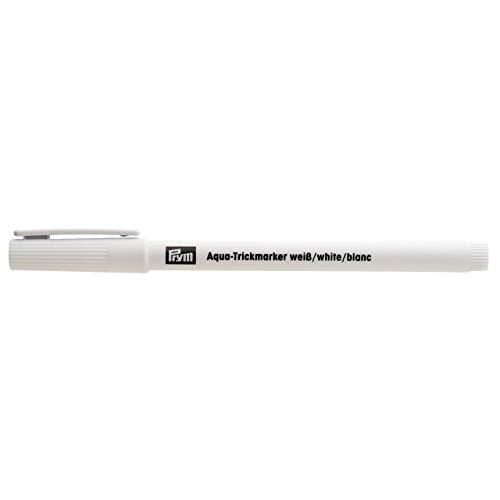 611824 Prym AQUA-Trickmarker weiß - Markierstift für dunkle Stoffe, wasserlöslich