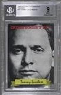 Tommy Lucchese BGS GRADED 9 #/40 (Trading Card) 2016 Historic Autographs The Mob - [Base] #19