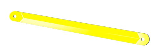 Lippert Components 1134122 Yellow Electric Stabilizer RV Jack Support Arm