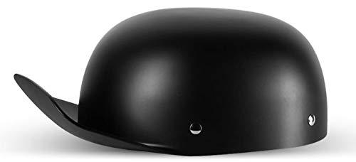 Motorrad Halbhelme Brain-Cap · Halbschale Motorrad-Helm Jet-Helm Roller-Helm Scooter-Helm Mofa-Helm Retro Harley Motorrad Half Helm A,L=55~58cm