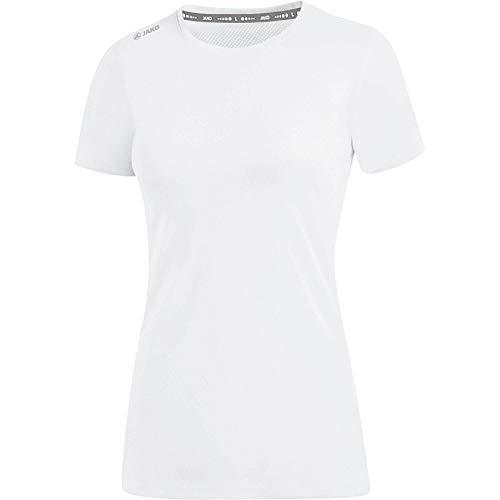 JAKO Damen Run 2.0 T-Shirt, weiß, 40