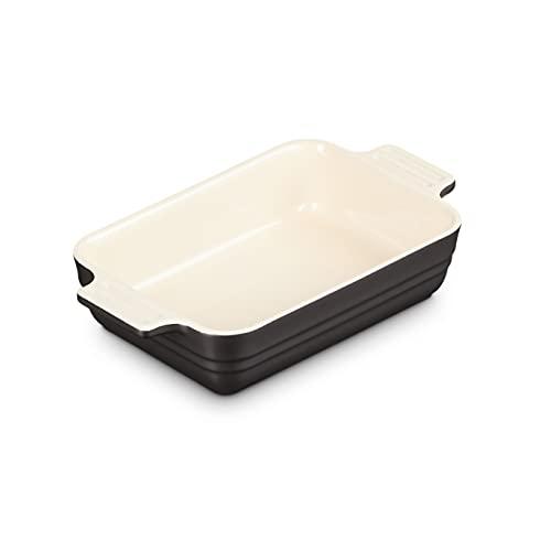Le Creuset 18 cm Bakeware, Stoneware, Negro