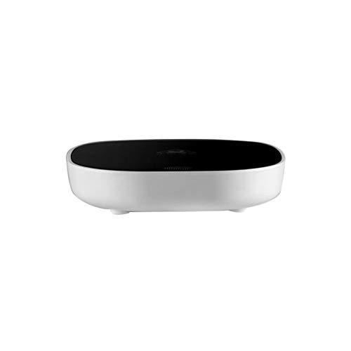 HUAJING Intelligent Constant Temperature Heating Coaster,Smart Coffee Warmer,55° Constant Temperature,for Coffee,Milk,Tea,Water,Birthday Gift (Color : White)