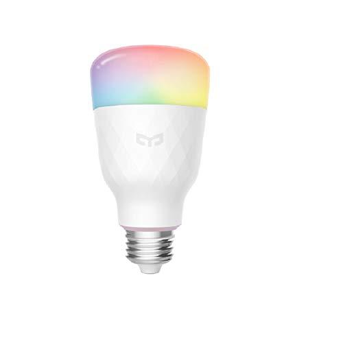 Yeelight LED Smart Bulb 1S (Color), bombilla WiFi, 16 millones de colores, control con aplicación y asistente de voz, versión de la UE