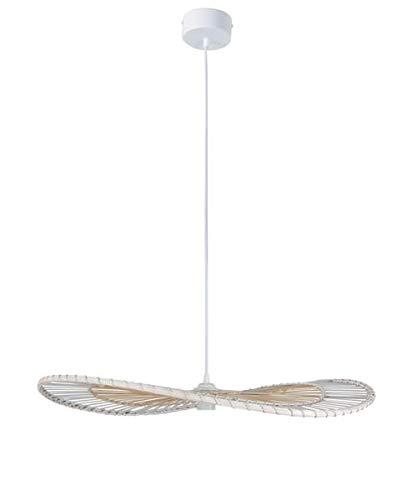 COREP Suspension bambou ENVOL hauteur 9 cm diametre 70 cm E27 60 W blanc