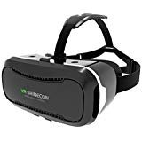 VR Headset, E-Home Virtual Reality Headset 3D VR Glasses for iPhone Samsung Google Android Smartphones within 4.5-6.0 Inches without Remote Controller