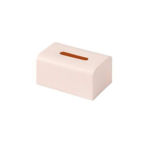 hsy una Caja Circular de pañuelos de Papel,Porta Toallas de Papel Cajas de pañuelos de Felpa Creativas Recipientes de pañuelos Estantes de Almacenamiento en Forma Bolsa de Papel tisú Creativa Salas