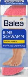 Balea Hornhautentferner Bims-Schwamm, 1 St