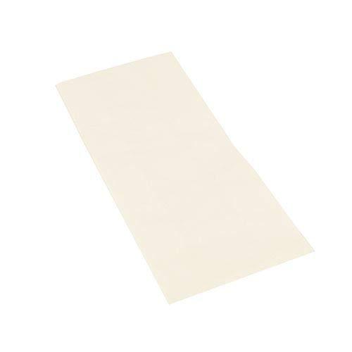 tradingbay24 Hähnchenbeutel, Papier mit HDPE-Einlage 24 cm x 10,5 cm x 5,5 cm Weiss 1/2 tbU90255 Hähnchentüten Warmhaltebeutel Halbes Hähnchen, 1000 Stück