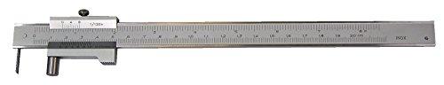 Anreiß-Messschieber mit Rolle, Inox, HM-Spitze (200-400mm)
