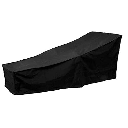 Hainice Lounger Cover Garden Dekstoel Covers Zonnebank Protective Cover Waterdicht UV-bescherming voor het meubilair van het tuinterras