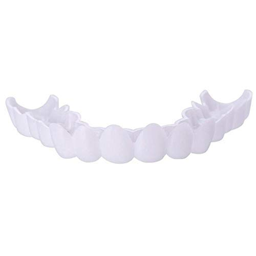 Smile Denture Fit Top Cosmetic Teeth Comfortable Cover Instant Comfort Whitening Teeth Denture 4PCS