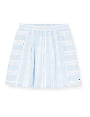 Tommy Hilfiger Seersucker Pleated Skirt Rock