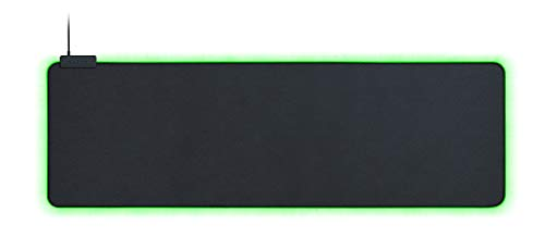 Razer Goliathus Extended Chroma: Micro-Textured Cloth Surface - Optimized for All Sensitiviy Settings and Sensors - Powered by Razer Chroma - Soft Extended Gaming Mouse Mat (Renewed)