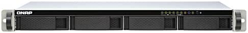 QNAP TS-451DEU-2G 4 Bay Rackmount NAS Enclosure - with 2.5 GB E Connectivity, 2 GB RAM, Intel Celeron 2.0 GHz Dual-Core Processor - for Small-to-Mid Size Offices and Audiovisual Rooms