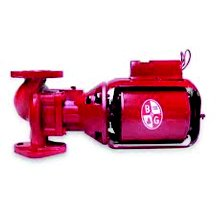 Bell & Gossett 106189 Bell & Gosset Iron Body Circulator Pump, Red