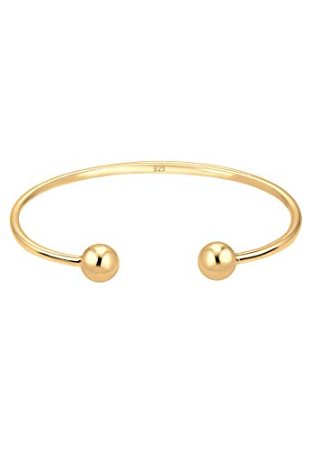 Elli Armband Kugel Ball Geo Bangle Basic 925 Sterling Silber