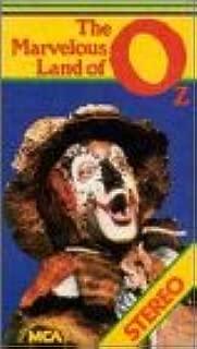 Marvelous Land of Oz VHS