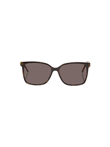TOM TAILOR Damen Eyewear Wayfarer Sonnenbrille mit getönten Gläsern havanna-gold,OneSize