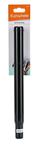 Prophete Sattelstütze Stahl, Länge: 300 mm, Ø 27,2 mm, Farbe: Schwarz Tija de sillín, Unisex Adulto, Negro, Talla única