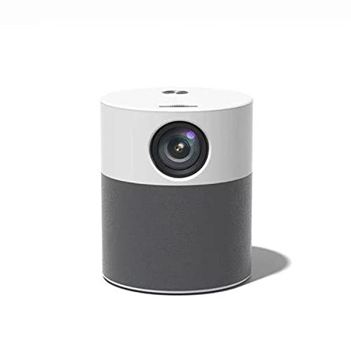 ABCD Proyector 4K HD 1080P, Sistema Android de Oficina en casa, proyector inalámbrico de Pantalla Grande, Control Remoto por Voz, visualización en Pantalla inalámbrica