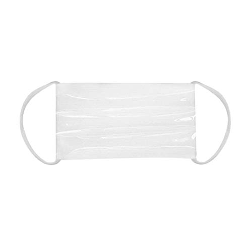Adult Transparency Transparent 4PC Lip Mask Mask With Clear Window Visible Expre