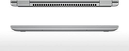 Lenovo Yoga 720 HM-80X7001TUS-V1 Laptop (Windows 10 Home, Intel Core i7-7700HQ, Pantalla LED de 15,6', Almacenamiento: 256 GB, RAM: 8 GB), Color Plateado
