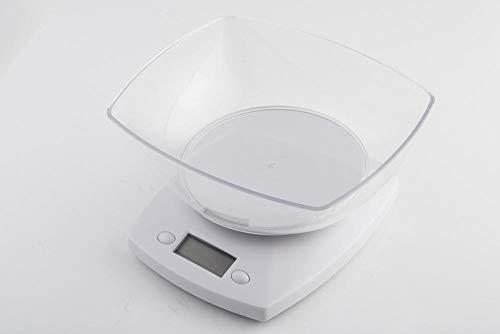 Báscula Digital de Cocina,Balanza de Alimentos Multifuncional, Escala de Peso de Alta Precisión con Función de Tara, Pantalla LCD Báscula de Alimentos Electrónica