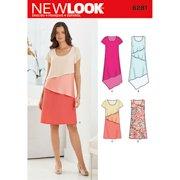 New Look NL6281 Patron de Couture Robe Mi-longue 22 x 15 cm