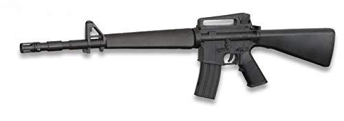 Replica M16 M4A1 Counter Strike Arma Larga Airsoft Aire Suave Mini cyma Potencia 0,50 Julios Airsoft Paintball Caza Supervivencia bushcraft Senderismo Camping Outdoor 38226 + Portabotellas de regalo