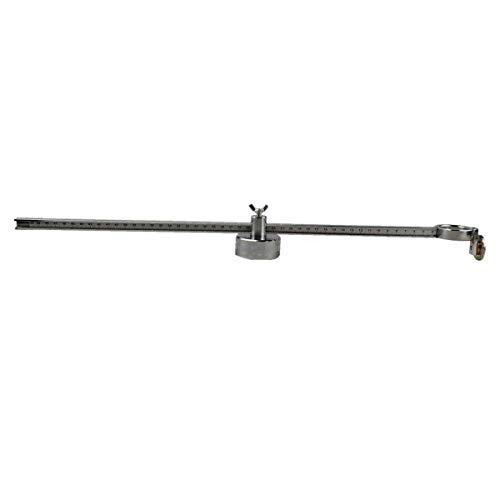 Plasmaschneidzirkel Zirkusschneidegerät Kreisrolle Führungsrad 50 cm für CUT40 PT31 AG60 SG60 P80 Plasma-Taschenlampe (P80)