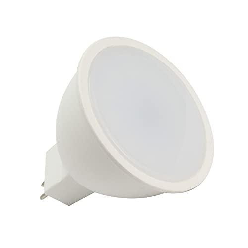 LEDKIA LIGHTING Bombilla LED GU5.3 12-24V 7W MR16 Blanco Neutro 4000K