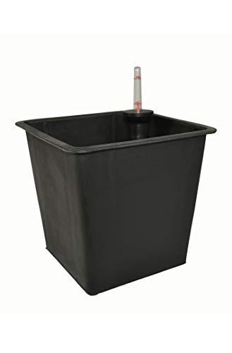 Premium-Pflanzeinsätze aus Kunststoff L44x B44x H38cm für Fiberglaskübel, Pflanzkübel, Einsatz, Inlet, Blumenkübel, Pflanzgefäße